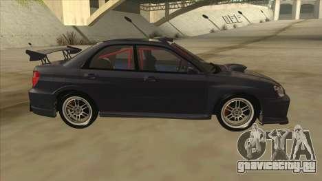 Subaru Impreza WRX STI Drift 2004 для GTA San Andreas