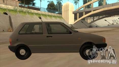 Fiat Uno 1995 для GTA San Andreas вид сзади слева