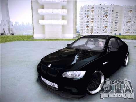 BMW M3 E92 Hamann 2012 для GTA San Andreas вид сзади
