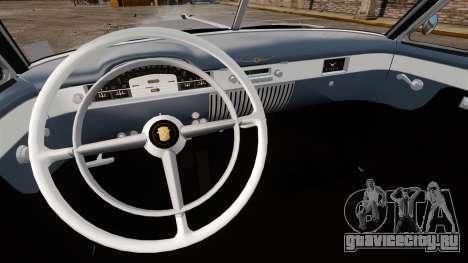 Cadillac Series 62 convertible 1949 [EPM] v4 для GTA 4 вид сзади