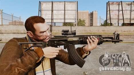 Автомат Калашникова AK-47 Sopmod для GTA 4