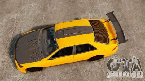 Lexus IS 300 для GTA 4 вид справа