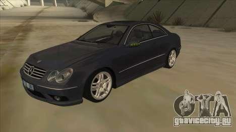 Mercedes-Benz CLK55 AMG 2003 для GTA San Andreas