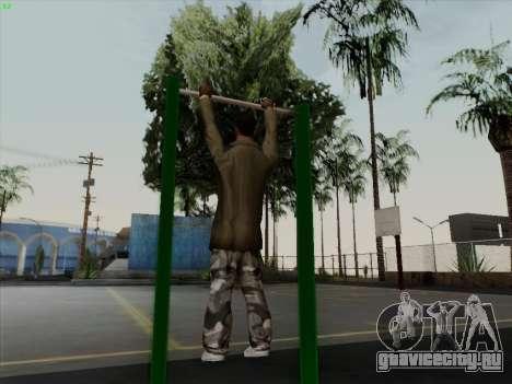 Турник для GTA San Andreas четвёртый скриншот