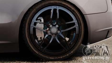 Audi S5 EmreAKIN Edition для GTA 4 вид сзади