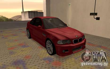 BMW M3 E46 2005 Body Damage для GTA San Andreas вид слева