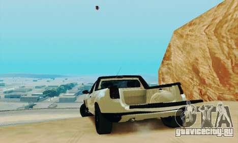 Dacia Duster Pick-up для GTA San Andreas вид сзади