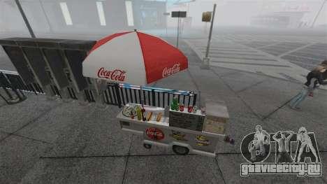 Обновлённые киоски и хот-договые тележки для GTA 4 седьмой скриншот