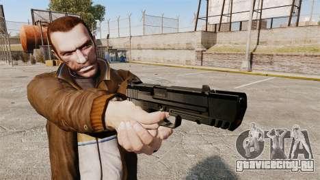 Самозарядный пистолет H&K USP v1 для GTA 4 третий скриншот