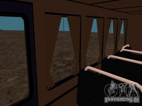 Газ 66 Вахта для GTA San Andreas салон