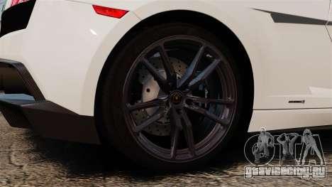 Lamborghini Gallardo LP570-4 Superleggera 2011 для GTA 4 вид сзади