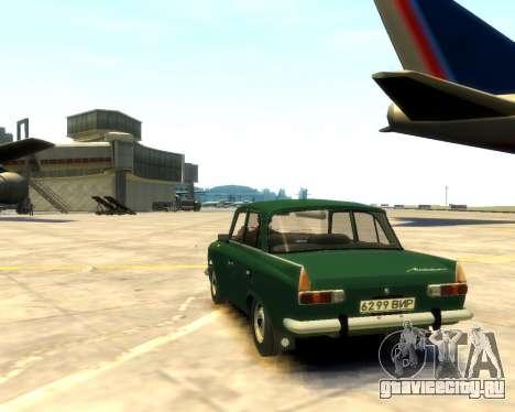 Москвич 412 для GTA 4 вид слева
