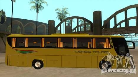 Yanson Legacy - CERES TOURS 55003 для GTA San Andreas вид сзади слева