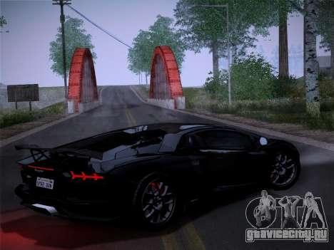 Lamborghini Aventador LP760-2 для GTA San Andreas вид сзади слева