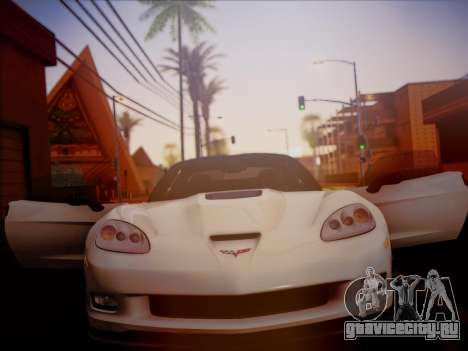 Chevrolet Corvette ZR1 2010 для GTA San Andreas вид справа