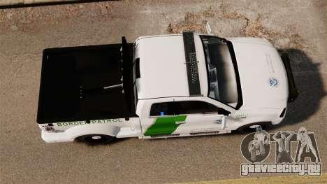 Ford F-150 v3.3 Border Patrol [ELS & EPM] v3 для GTA 4 вид справа