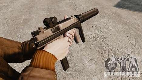 Тактический пистолет-пулемёт MP9 v1 для GTA 4 второй скриншот