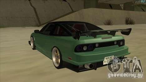 Nissan 180SX Uras GT для GTA San Andreas вид сзади
