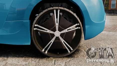 Nissan 370Z Tuning для GTA 4 вид сзади