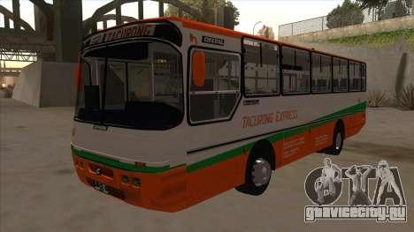 Tacurong Express 368 для GTA San Andreas