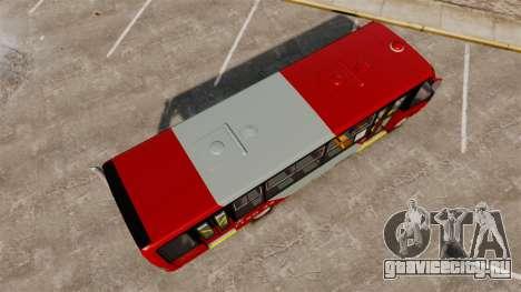 Mercedes-Benz Neobus Thunder LO-915 для GTA 4 вид сзади