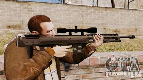 Снайперская винтовка DSR-1 для GTA 4
