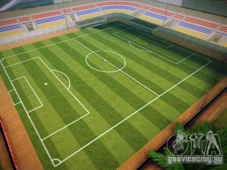 Футбольное поле для GTA San Andreas