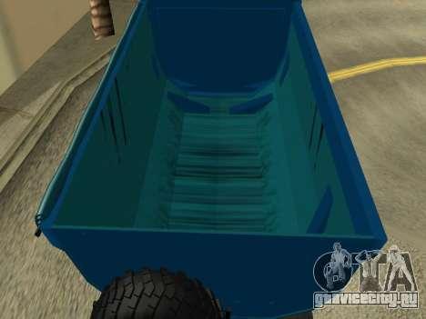 Урал 4320 Тонар для GTA San Andreas вид сверху