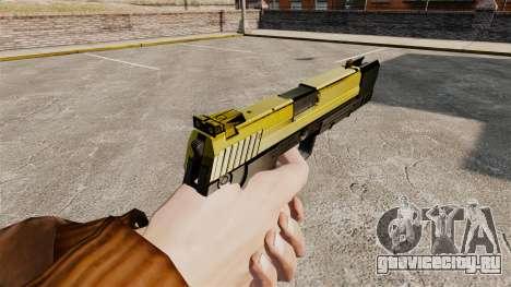 Самозарядный пистолет H&K USP v4 для GTA 4 второй скриншот