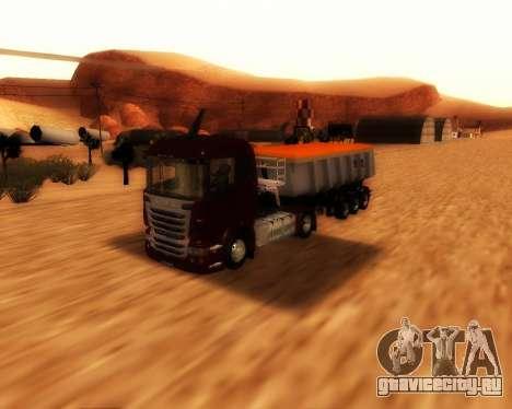 Полуприцеп Schmitz Cargo Bull для GTA San Andreas вид справа
