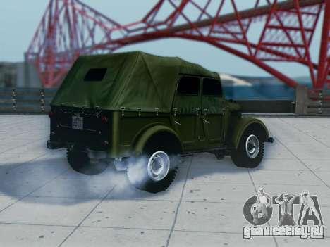 УАЗ 69А для GTA San Andreas вид справа