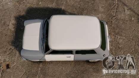 Mini Cooper S 1968 для GTA 4 вид справа