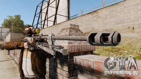 Снайперская винтовка Halo Reach SRS 99 для GTA 4 третий скриншот