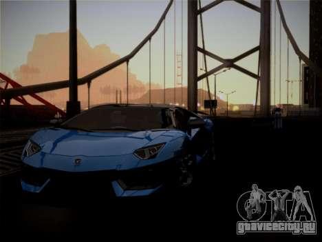 Lamborghini Aventador LP760-2 для GTA San Andreas вид сверху