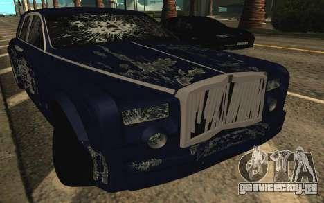 Rolls-Royce Phantom для GTA San Andreas двигатель