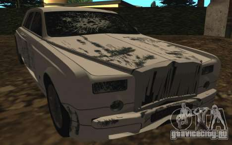 Rolls-Royce Phantom v2.0 для GTA San Andreas вид сбоку