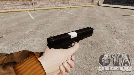 Самозарядный пистолет Glock 17 v2 для GTA 4 второй скриншот