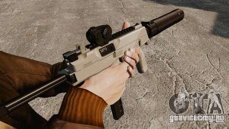 Тактический пистолет-пулемёт MP9 v3 для GTA 4 второй скриншот