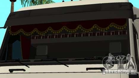 МАЗ 5440 для GTA San Andreas вид снизу