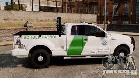Ford F-150 v3.3 Border Patrol [ELS & EPM] v2 для GTA 4 вид слева
