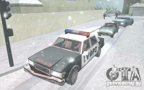 Snow San Andreas 2011 HQ - SA:MP 1.1 для GTA San Andreas второй скриншот