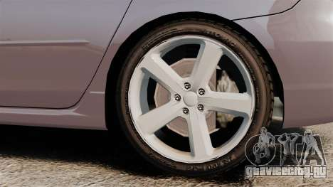 Mazda 3 Sport для GTA 4 вид сзади