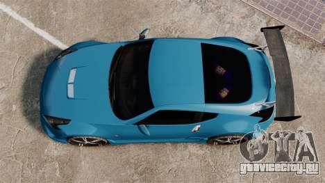 Nissan 370Z Tuning для GTA 4 вид справа