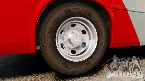 Mercedes-Benz Neobus Thunder LO-915 для GTA 4 вид изнутри
