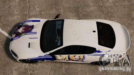 Maserati MC Stradale Infinite Stratos для GTA 4 вид справа