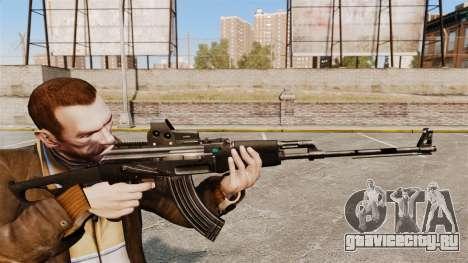 Ручной пулемёт Калашникова для GTA 4