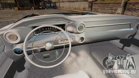 Cadillac Eldorado 1959 v2 для GTA 4 вид сзади