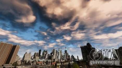 Новое ночное и дневное небо для GTA 4