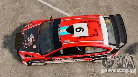 Ford Focus RS Munchis WRC для GTA 4 вид справа