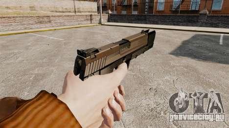 Самозарядный пистолет H&K USP v2 для GTA 4 второй скриншот